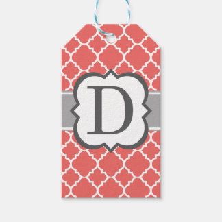 Letter D Gift Tags