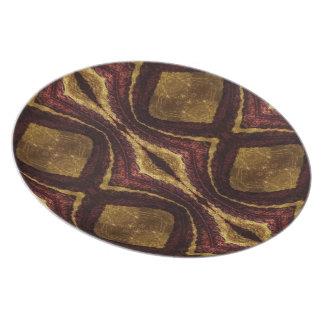 Corded Velvet Arglye Plate