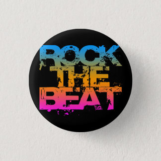 Corey Tiger 1980S Retro Rock The Beat 3 Cm Round Badge
