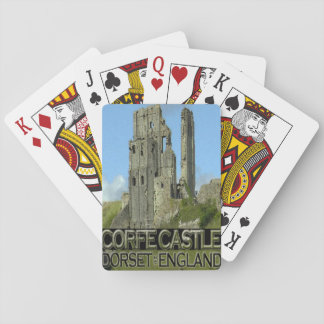 Corfe Castle Playing Cards