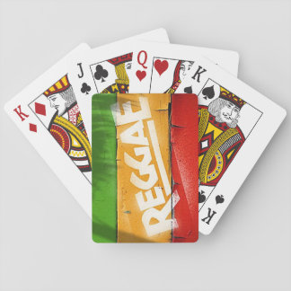 Cori Reith Rasta reggae graffiti Poker Deck