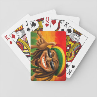 Cori Reith Rasta reggae peace face Poker Deck