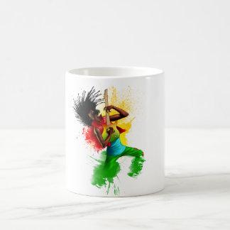 Cori Reith Rasta reggae rasta man music graffiti Coffee Mug