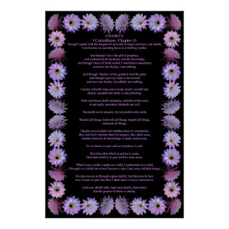 Corinthians in a Nightblooming Cactus Frame Poster