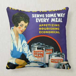 Corn 1918 cushion