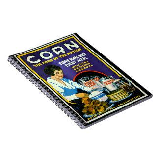 Corn 1918 notebooks
