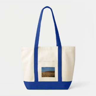 Corn and Blue Sky moon Tote Bag
