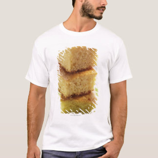 Corn bread, cut into cubes (in a pile) T-Shirt