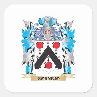 Cornejo Coat of Arms - Family Crest Sticker