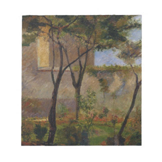 Corner of the garden rue Carsal by Paul Gauguin Scratch Pad
