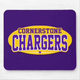 Cornerstone Christian; Chargers Mouse Pad