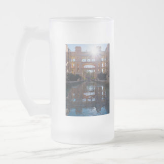 Coronado Sunburst Frosted Glass Beer Mug