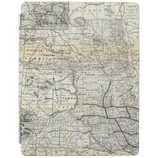 Correct map of Dakota iPad Cover