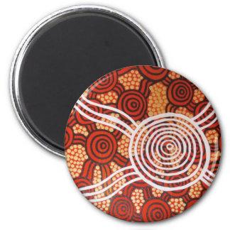 Corroboree II Aboriginal Art Magnet