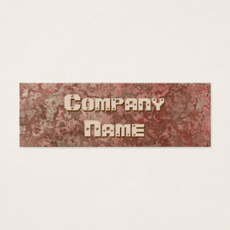 126 demolition business cards and demolition business card corrosion print brown business card skinny colourmoves