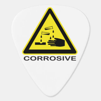 Corrosive Guitar Pick