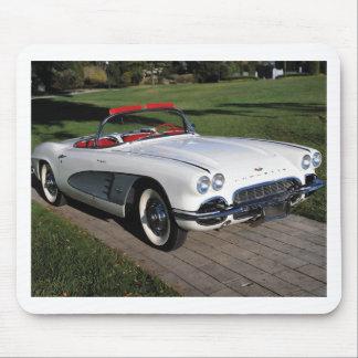 Corvette antique cars classic autos vintage cars mouse pad