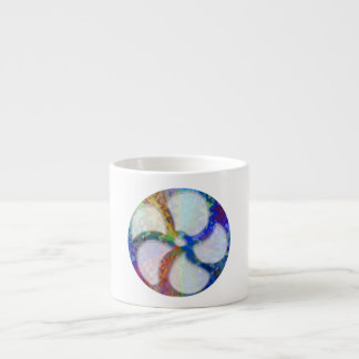 Cosmic Blueray Sparkling Jewels Espresso Cup