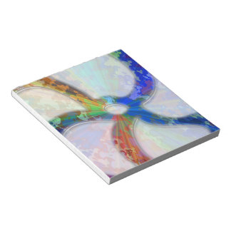 Cosmic Blueray Sparkling Jewels Notepad