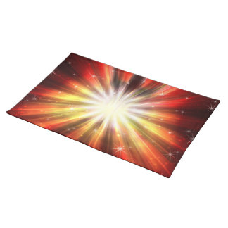 Cosmic Fire Explosion American MoJo Placemats