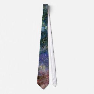 Cosmic starry sky - orion or milky way cosmos tie