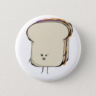 CosmicPBJ, the Ultimate Sammich! 6 Cm Round Badge