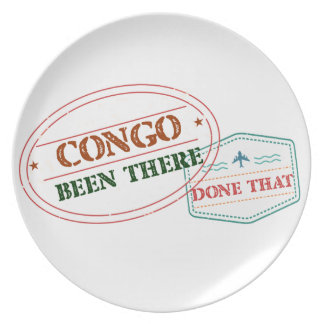 Costa Rica Been There Done That Plate