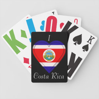Costa Rica Cost Rican Flag Card Deck