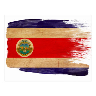 Costa Rica Flag Postcards