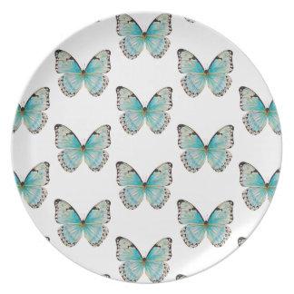 Costa Rica Medium Pattern Butterfly Melamine Plate