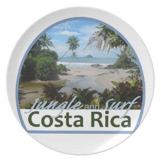 Costa Rica Plate