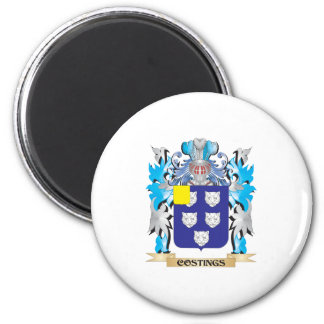 Costings Coat of Arms - Family Crest Magnets