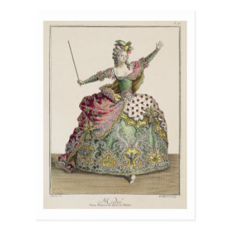 Costume for Medea in the opera 'Jason and Medea', Postcard