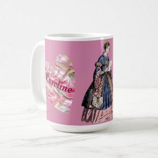 Costumes ~ Personalised CAROLINE~ Valentine's Day Coffee Mug