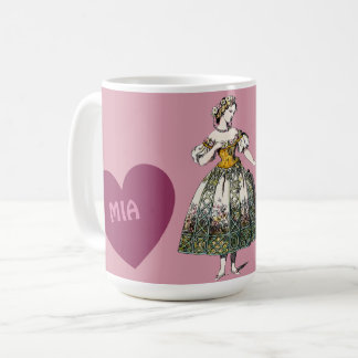 Costumes ~ Personalised MIA ~ Valentine's Day Coffee Mug