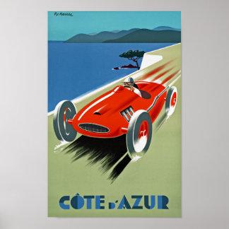 Cote d'Azure Poster