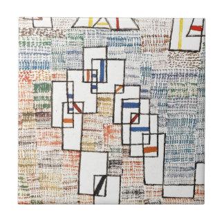 Cote de provence by Paul Klee Tile