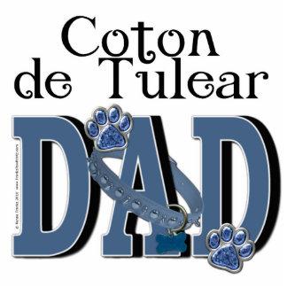 Coton de Tulear DAD Standing Photo Sculpture