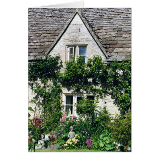 Cotswold Cottage & Garden Greeting Card