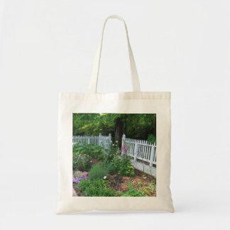 Cottage Garden Canvas Bags