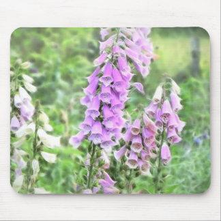 Cottage Garden Foxgloves Mouse Pad