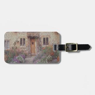 Cottage Garden Luggage Tag