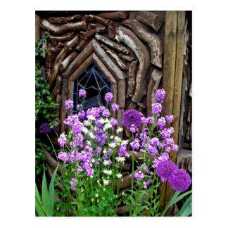 Cottage Garden Post Card
