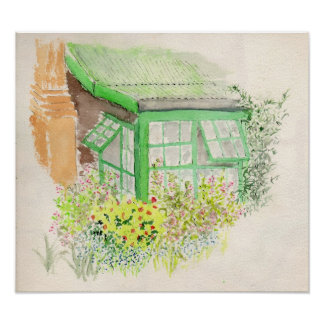 Cottage Garden Print