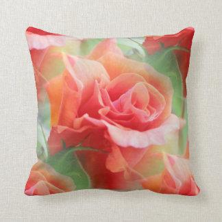 Cottage Garden Rose Pillow