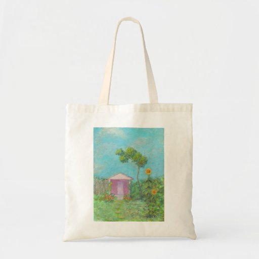 COTTAGE GARDEN Tote Canvas Bags