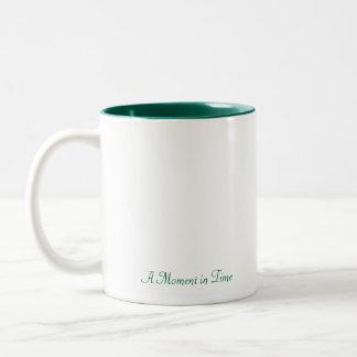 Cottage Garden Two-Tone Coffee Mug