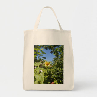 COTTAGE SUNFLOWER Tote Grocery Tote Bag