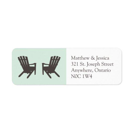 Cottage Wedding // Return Address Labels