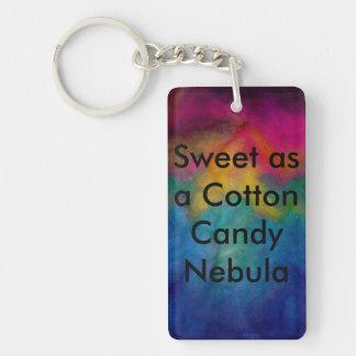 Cotton Candy Key Chain